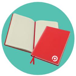 Personalised Belluno A5 Casebound Notebook