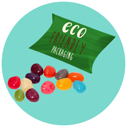 Printed Eco Small Pouch Box - Jelly Bean Factory®