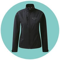 Softshell Jacket with Logo embroidery printed.