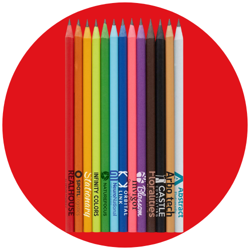 UK Made Recycled CD Case Pencils